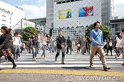 Shibuya Editorial Stock Photo
