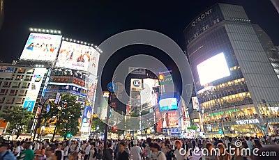 Shibuya Crossing Editorial Photography