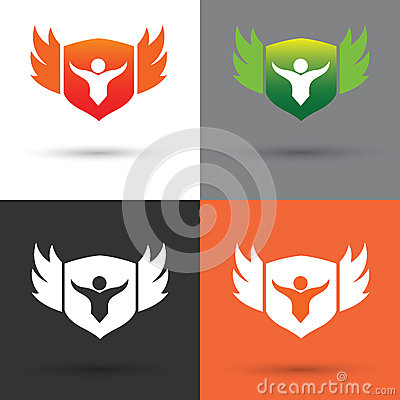 Free Shield Logo And Vector Stock Photo - 36108600