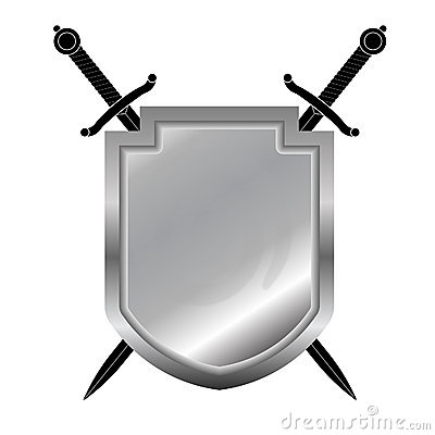 Shield and swords