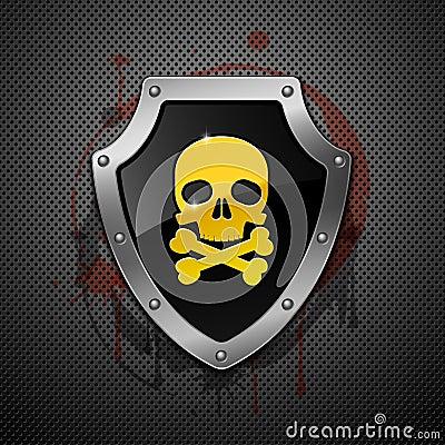 Shield. Vector.