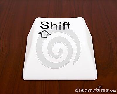 Shift button