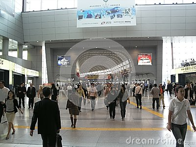 Shinagawa Railway Station Editorial Photography
