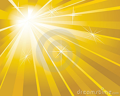 Shine golden background