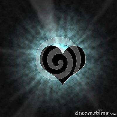 Shine Heart Lighting Effect