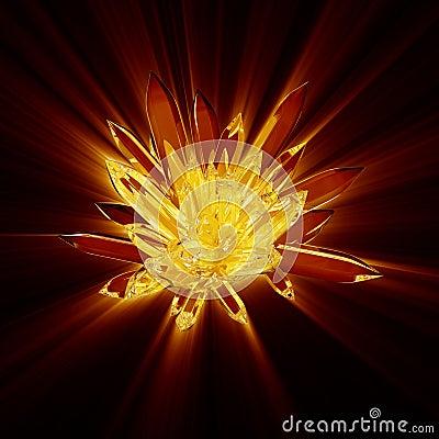 Shine rock crystal