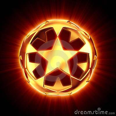 Shine star ball