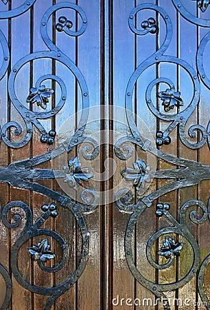 Shiney Wooden Door