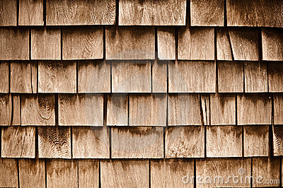 Shingle Aged Wooden  Background