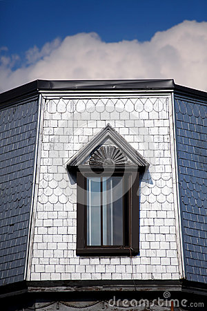 The shingle roof