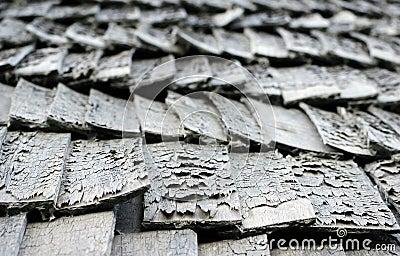 Shingle roof pattern
