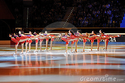 Shining Blades at 2011 Golden Skate Award Editorial Stock Photo