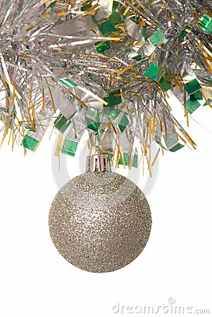 Shining christmas-tree decoration.