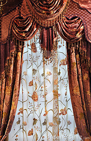 Shining curtains