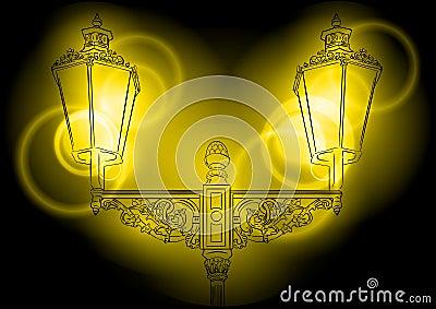 Shining lamp