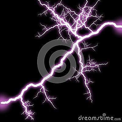 Shining lightning