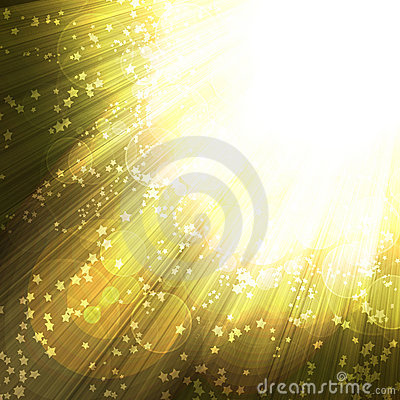 Shining rays and stars