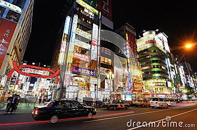 Shinjuku Editorial Photography