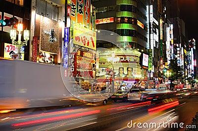 Shinjuku Editorial Image
