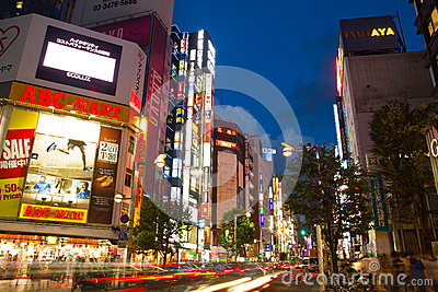 Shinjuku Editorial Stock Image