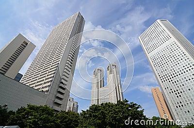 Shinjuku office buildings