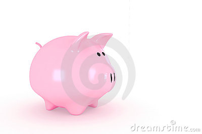 Shinny piggy bank