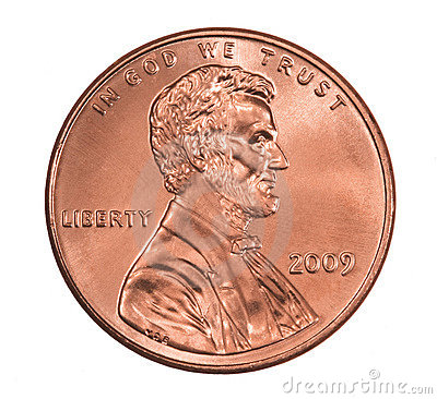 Shiny 2009 Lincoln Penny