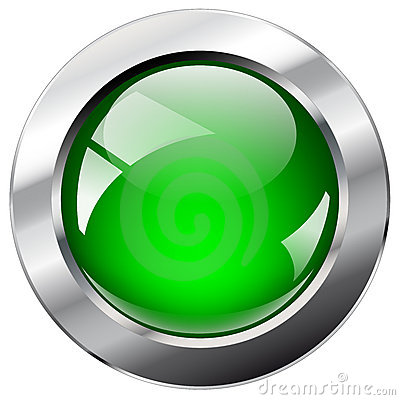 Free Shiny Abstract Web Button With Metal Ring Stock Image - 12579211