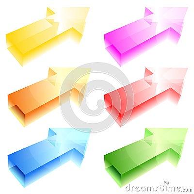 Shiny arrows