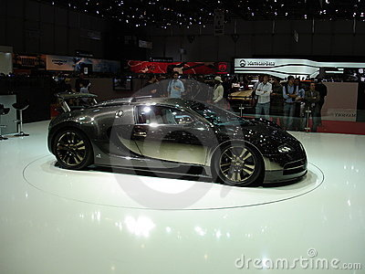Shiny Bugatti Editorial Stock Photo