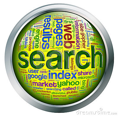 Shiny button of search engine wordcloud