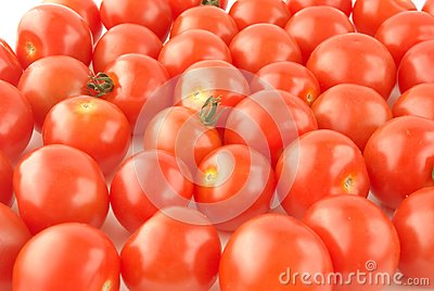 Shiny Cherry tomatoes