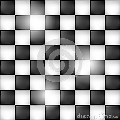 Shiny chessboard background