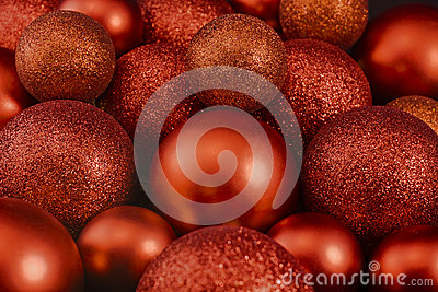 Shiny Christmas balls