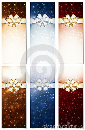 Shiny Christmas cards