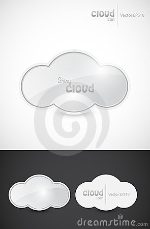 Shiny cloud signs