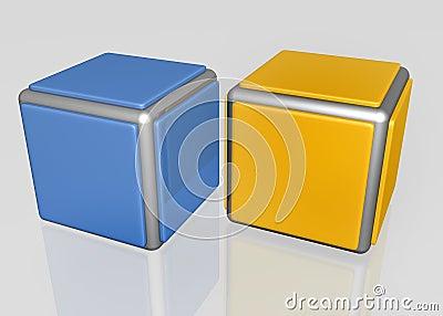 Shiny cubes