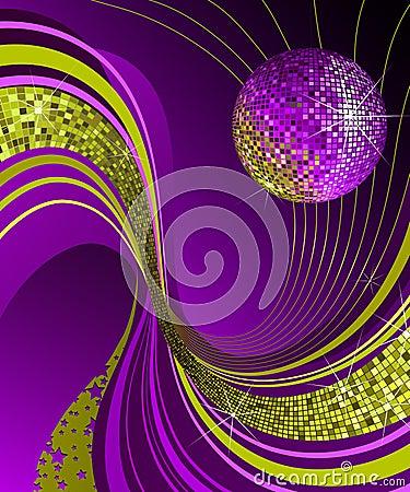 Free Shiny Disco Ball. Stock Image - 2944961