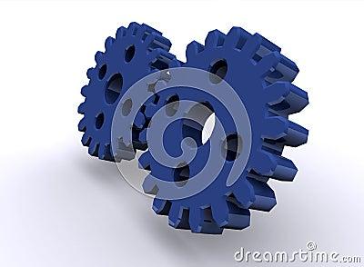 Shiny gears