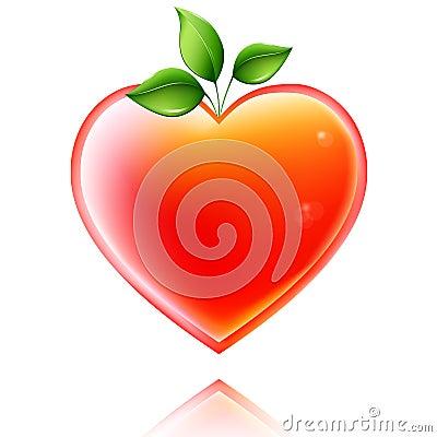 Shiny heart.