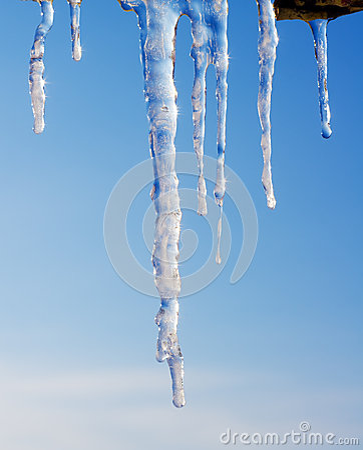 Shiny icicles