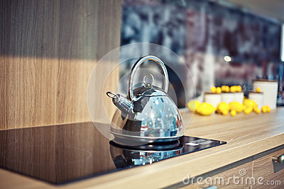 Shiny  kettle