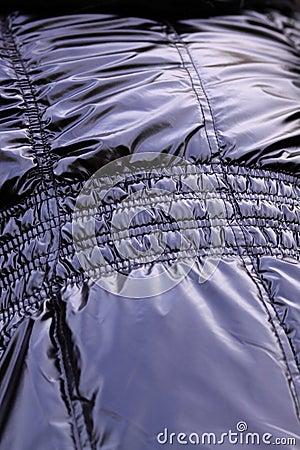 Shiny pvc coat texture