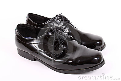 Shiny men s dressy shoes