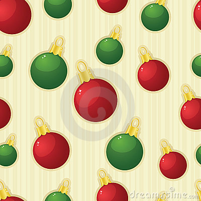 Shiny Ornaments Seamless Tile