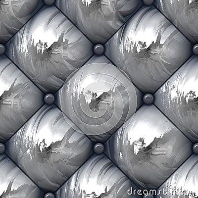 Shiny Padded Upholstery Pattern