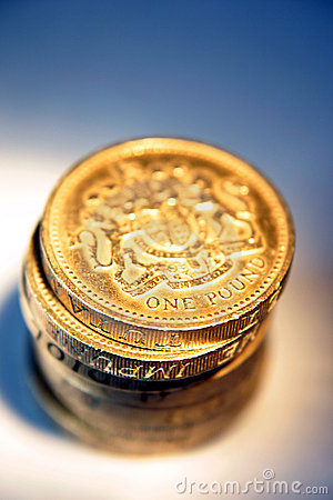 Shiny Pound Coins