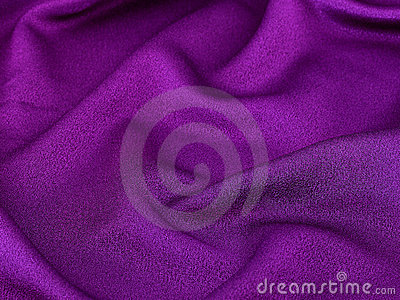 Shiny purple fabric background