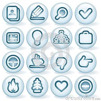 Shiny Round Icons #1