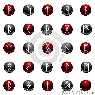 Shiny rune set